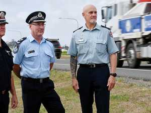 Mackay emergency services road safety united front