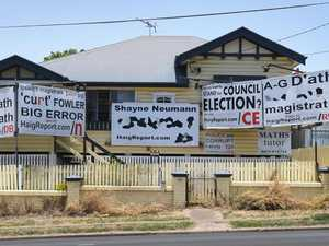 New signs erected as legal stoush continues
