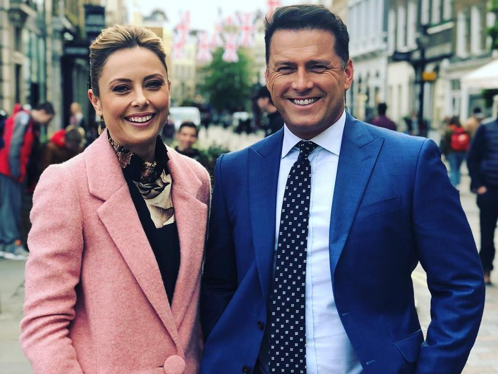 The new-look Today will be fronted by Allison Langdon and a returning Karl Stefanovic. Picture: Instagram