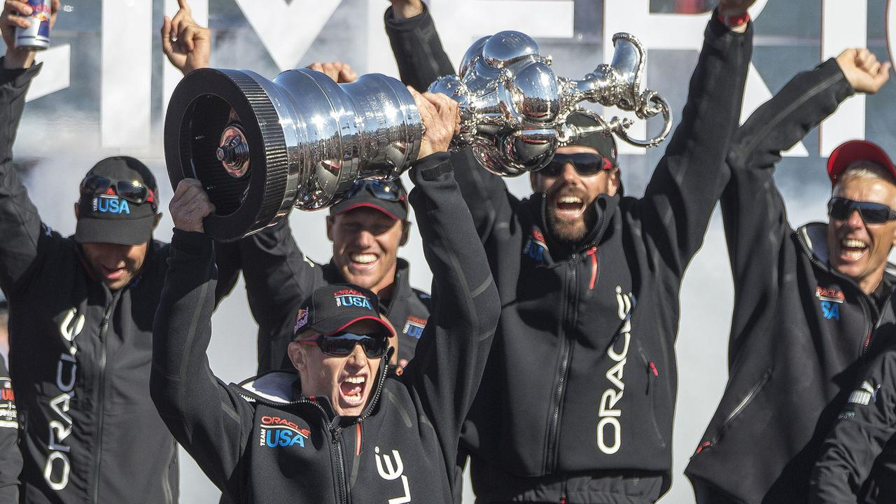 The victorious Oracle Team USA.