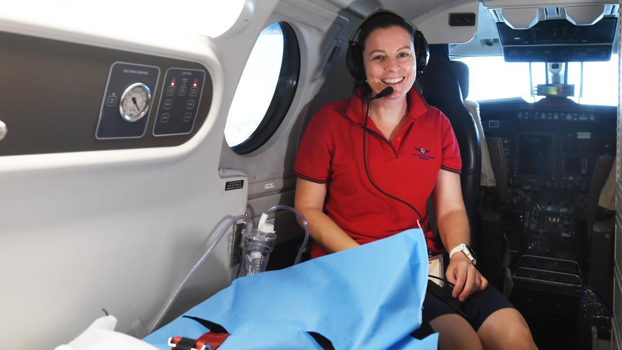 RFDS nurse Carolyn Overy.