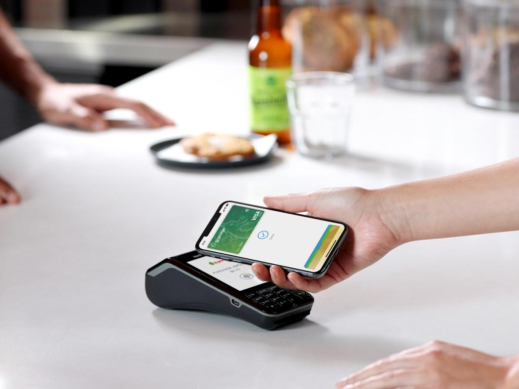 Apple Pay launched in Australia in April 2016. Picture: Supplied