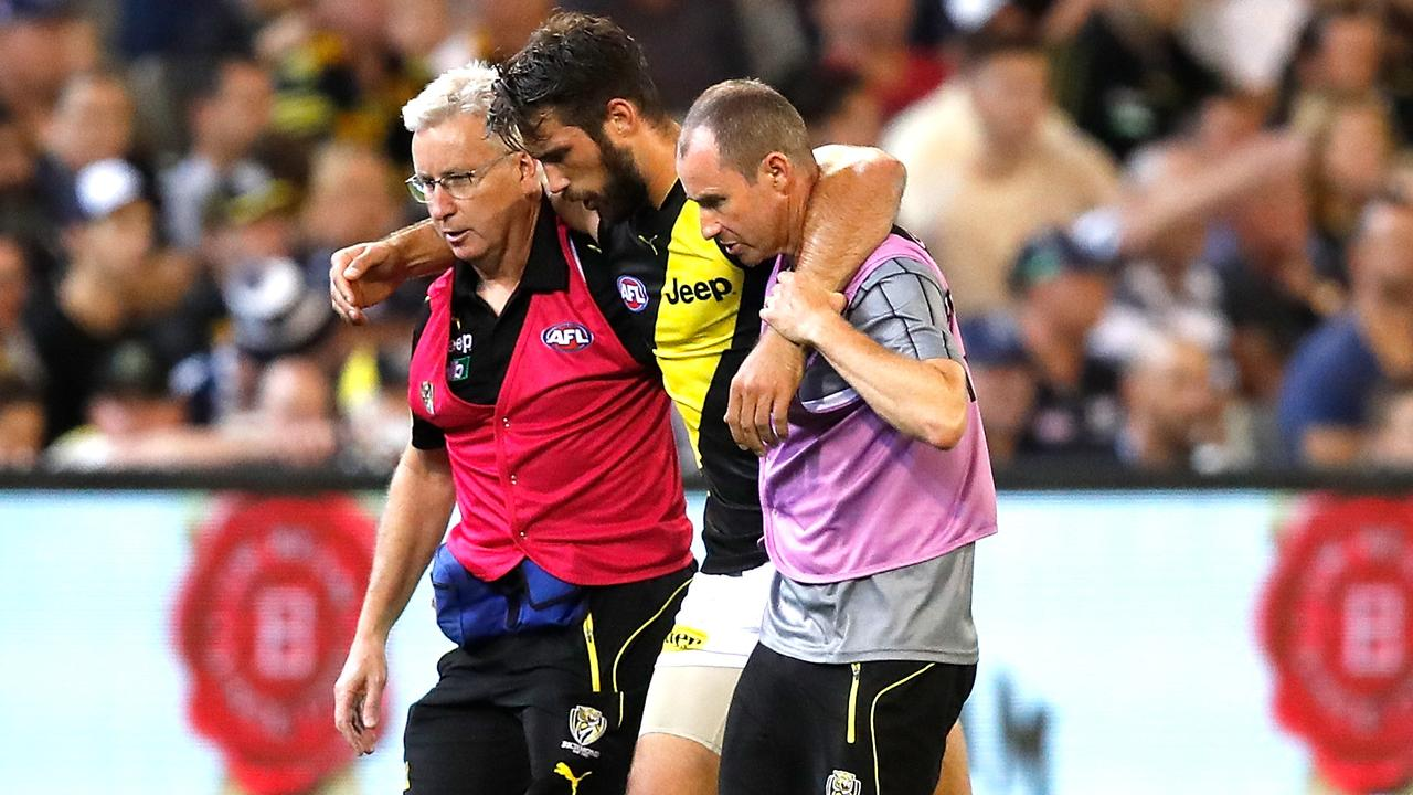 Rance missed the 2019 season after rupturing his ACL in Round 1. Picture: Getty Images
