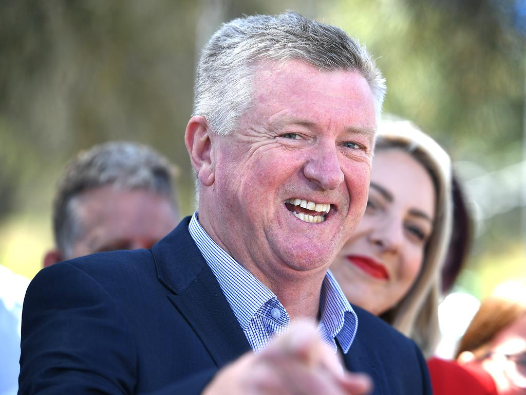 Former journalist Patrick Condren was installed as Labor's new lord mayoral candidate.