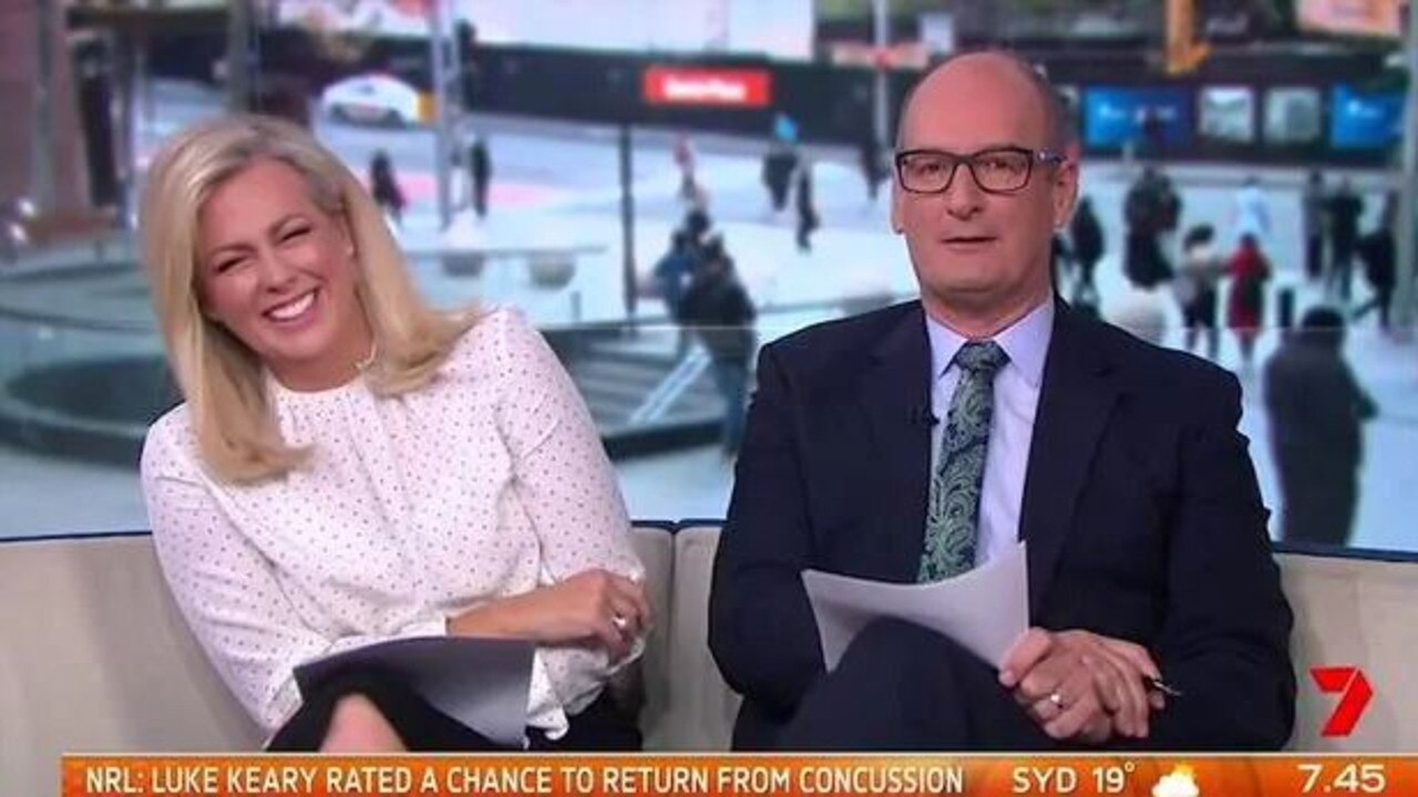 Samantha Armytage and David Koch host the top-rating Sunrise and have widened their lead over rival Today this year.