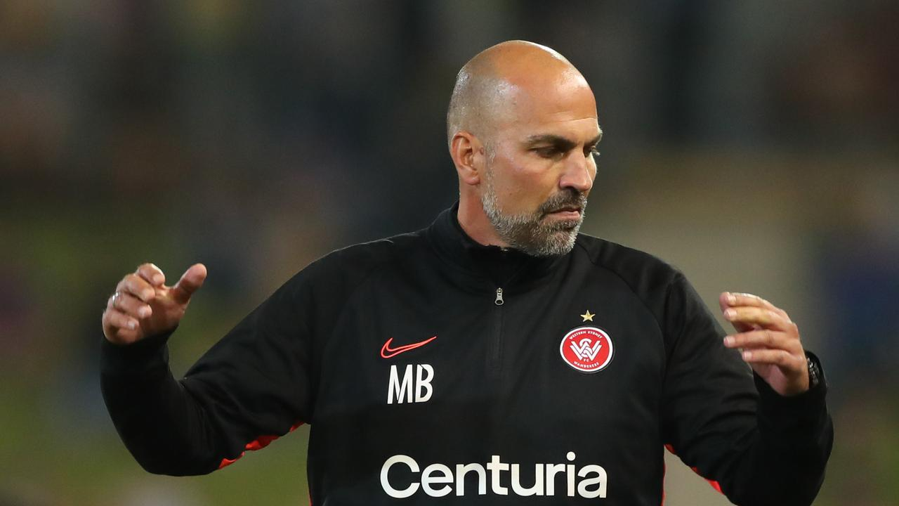 UNDER PRESSURE: Markus Babbel coach of of the Western Sydney Wanderers. (Photo by Tony Feder/Getty Images)