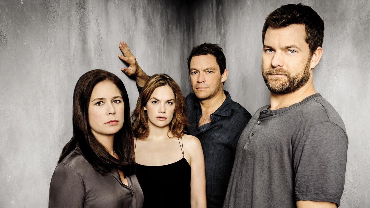 The Affair stars Maura Tierney, Ruth Wilson, Dominic West and Joshua Jackson.