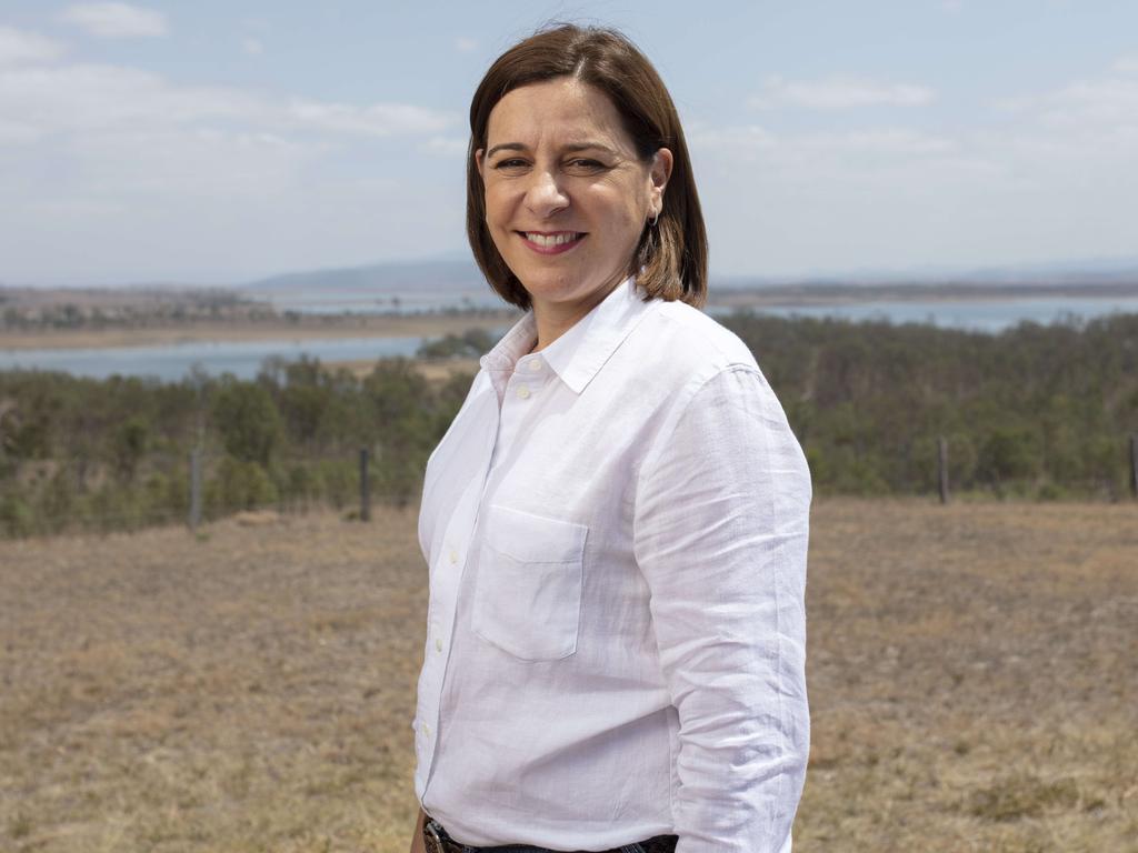 State Opposition Leader Deb Frecklington