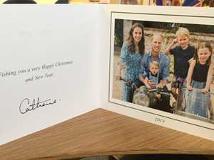 Cambridges share sweet Christmas card