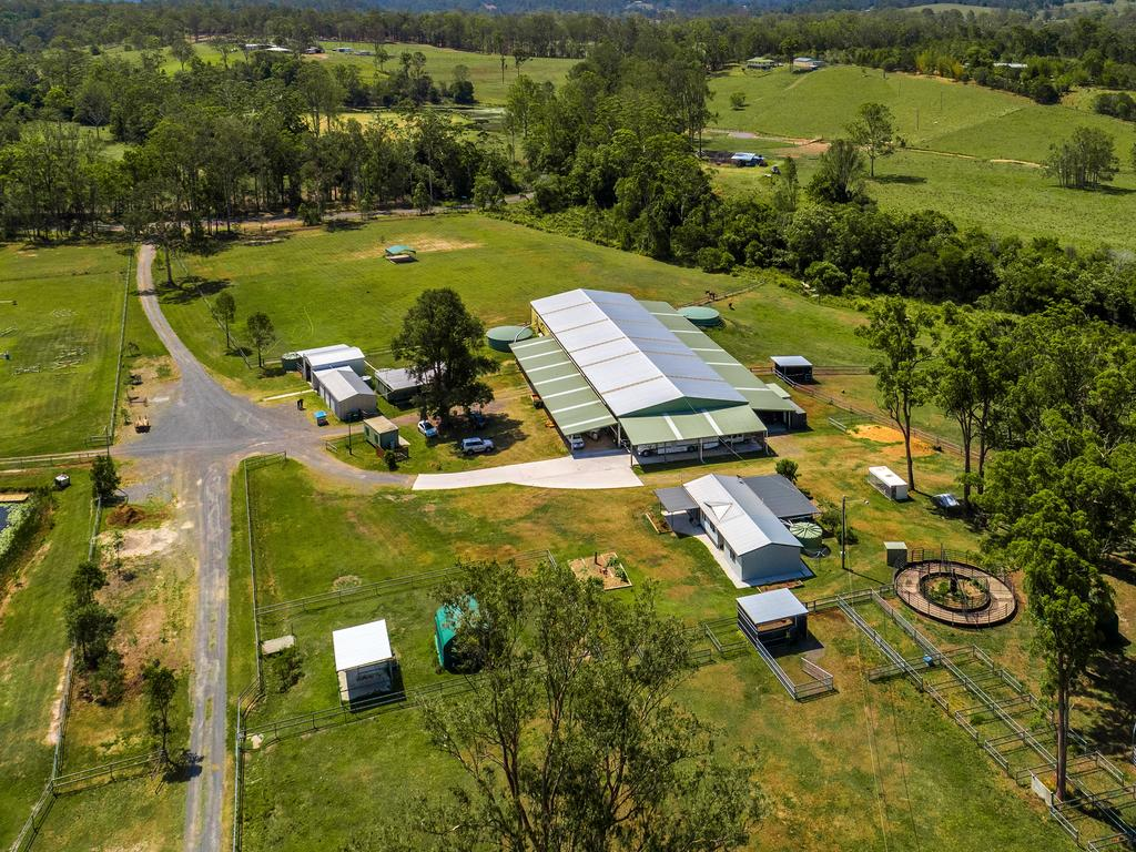 1294 Noosa Rd, Tandur, home of the Noosa Equestrian Centre, has come onto the market for $2.25m.