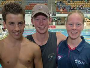 Bullets coach 'really proud' of swimmers' performance