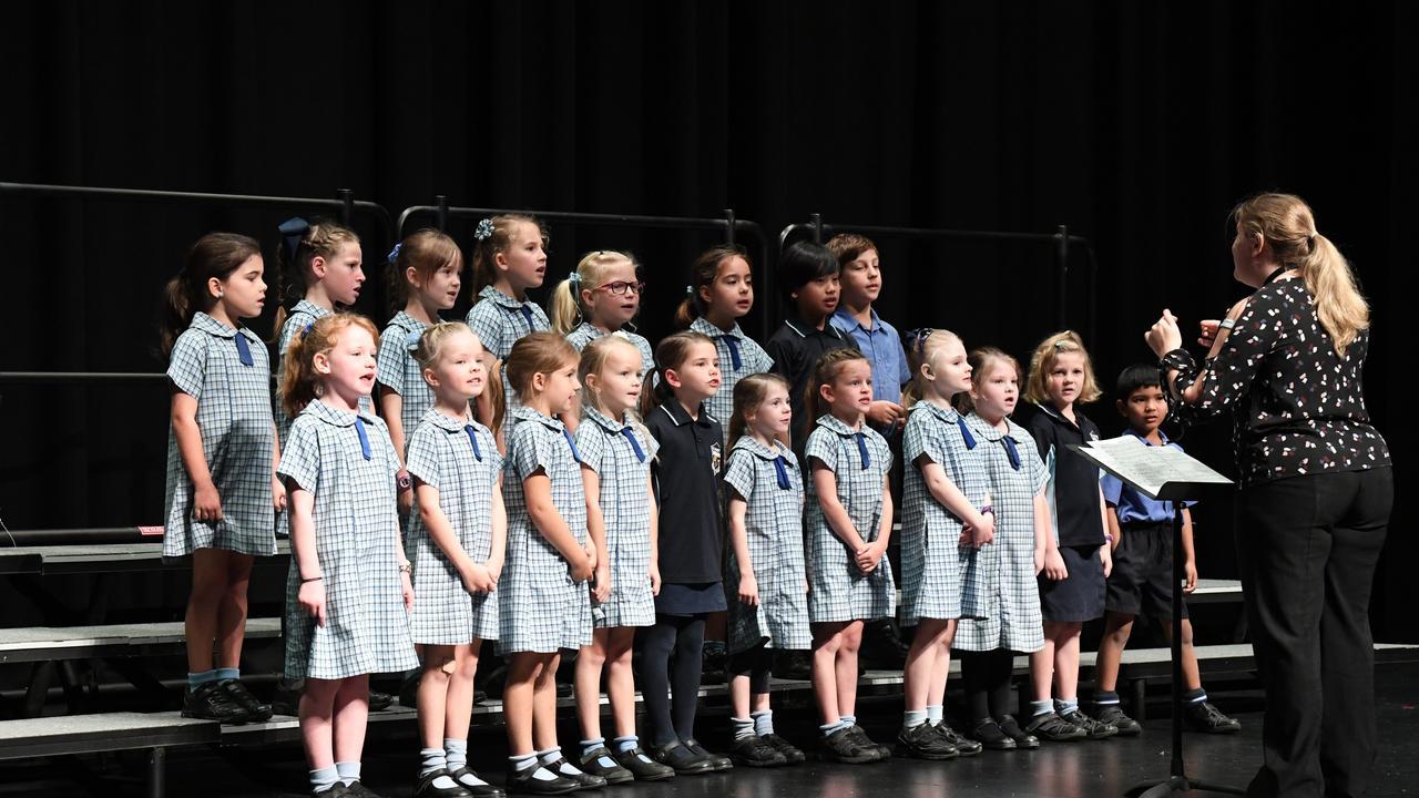 Maryborough Eisteddfod, Primary School Choirs and Instrumental Solos - St Mary's Primary School Junior Choir.