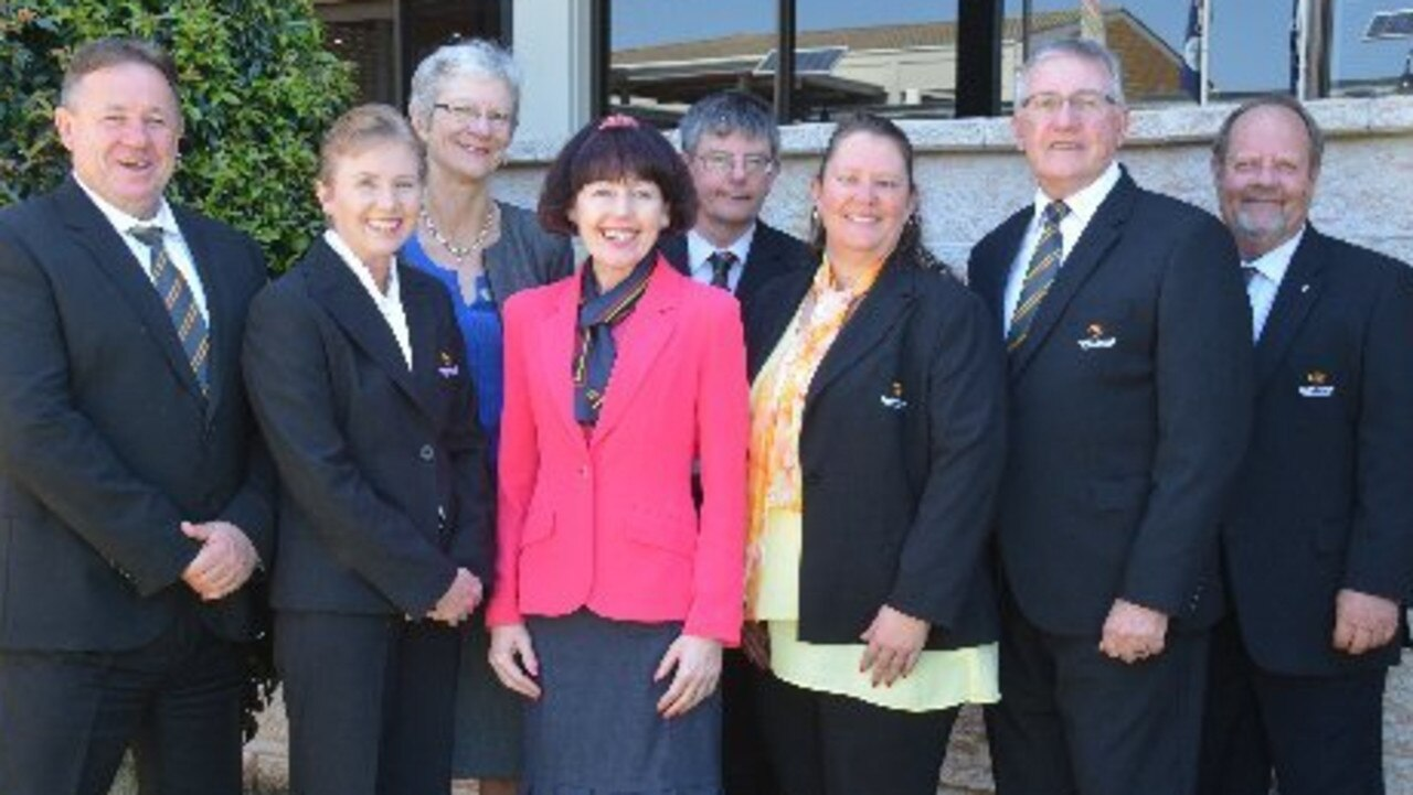 All of the South Burnett councillors from 2016 until 2020. Picture: Jessica McGrath