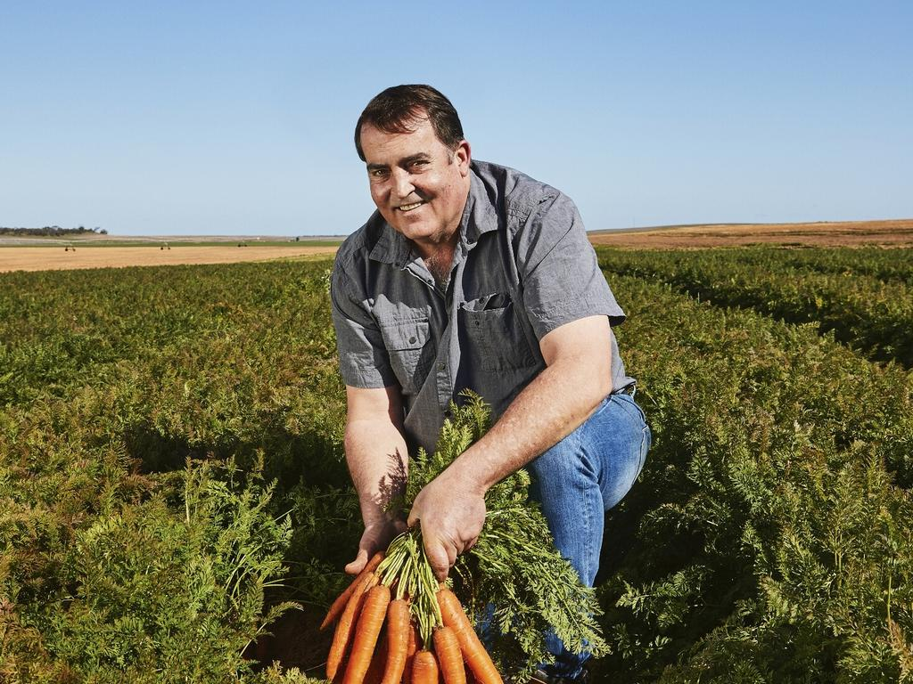 Aldi carrot supplier Nico Nel is a farmer from Zerella Fresh.