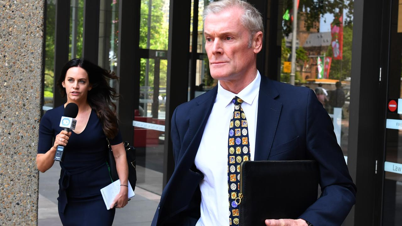 Gordon Wood leaves the NSW Court of Appeal in Sydney, Monday, November 18, 2019. Picture: AAP