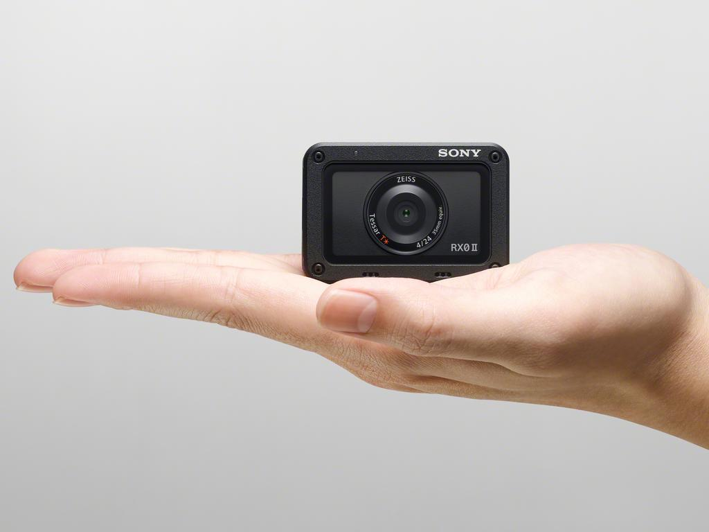The Sony RX0 II is a premium action camera that can capture 15-megapixel images in RAW format.