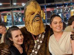 Gallery: Star Wars fans rush to midnight advance screening