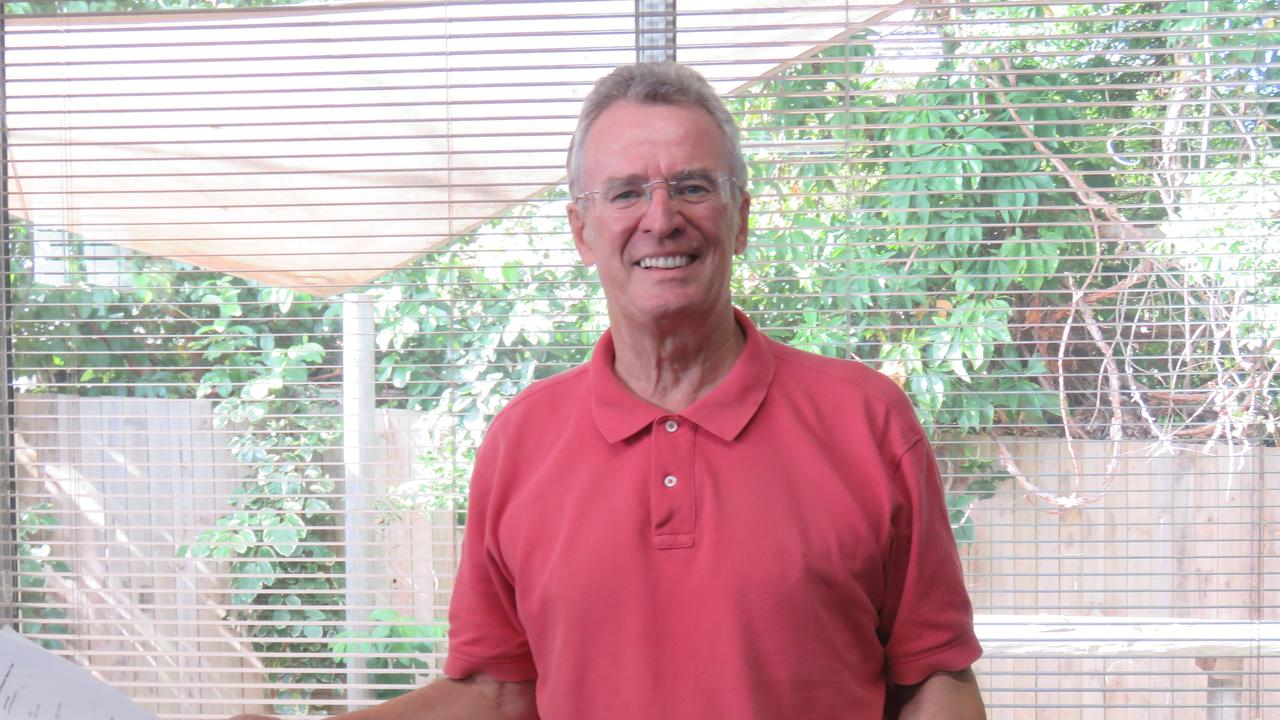 Newly retired Noosa Biosphere Reserve Foundation chair Dick Barnes