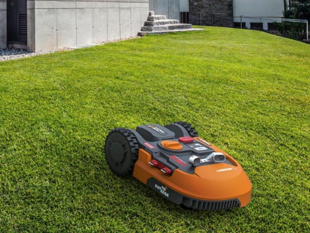 Worx has released the Landroid, a robotic mower designed to cut up to 1000 sqm of grass on a single charge.