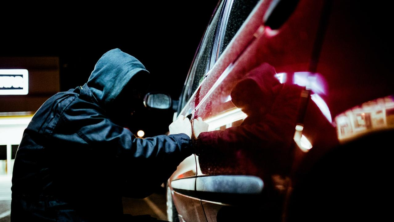 A man is still on the run after stealing a car in a violent armed robbery this morning. Photo: File