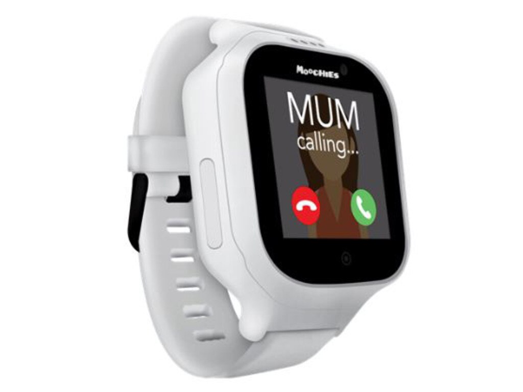 The Moochies smartwatch is designed to let children call or message a vetted group of contacts.