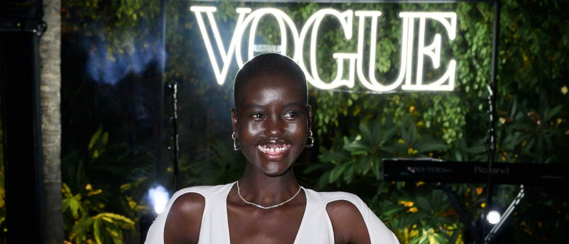 Supermodel Adut Akech, who spent the first seven years of her life in a refugee camp, says she won't back down from issues including equality and refugees.
