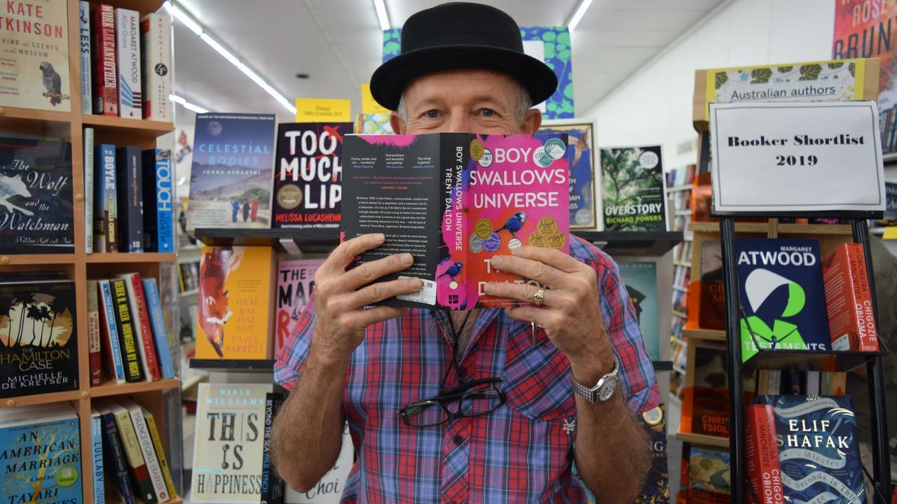 The Book Warehouse Owner Richard Morrow gives Lismore a reading list to send Santa.