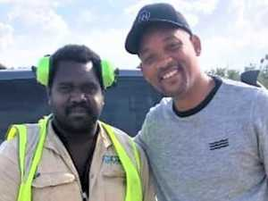 Actor Will Smith tracked down in remote community