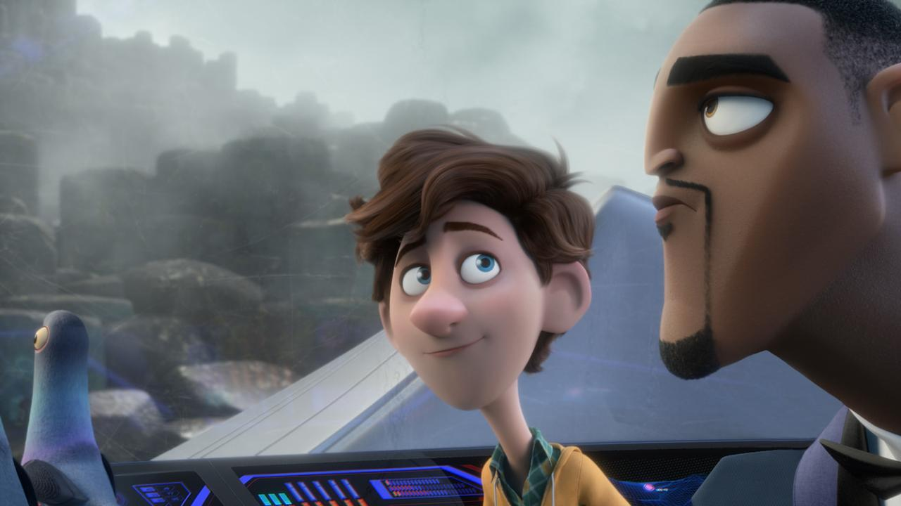 A scene from the movie Spies in Disguise. Supplied by Twentieth Century Fox.