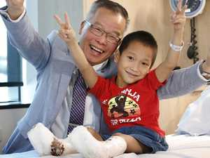 How this Vietnamese orphan came to take his first steps