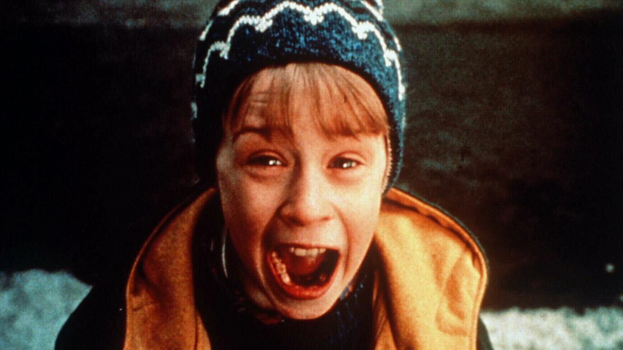Macauley Culkin in 1990 film Home Alone.
