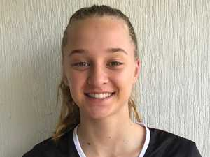 Rising volleyball star picked for AIS tryout