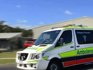 Update: Passenger taken to hospital after vehicle rollover