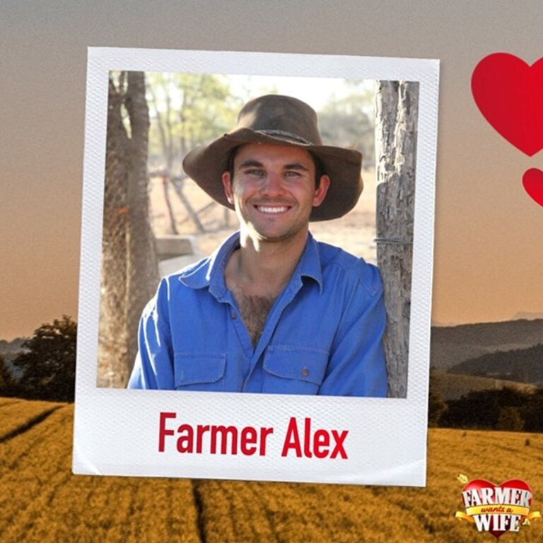 Farmer Alex from Cunnamulla is preparing to put his heart on his sleeve (and national television) next month when filming begins for Channel 7's Farmer Wants a Wife.