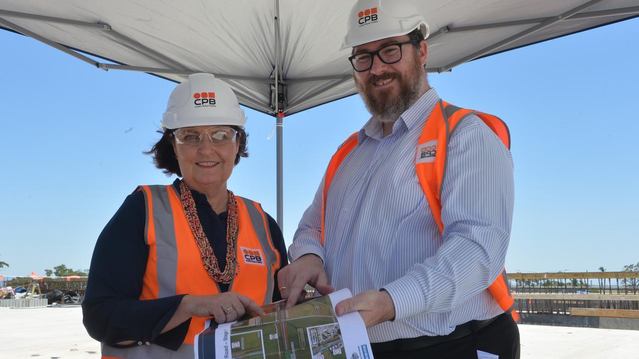 POLITICAL PROMISES: Mackay MP Julieanne Gilbert and Dawson MP George Christensen.