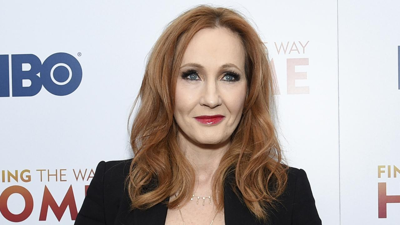 J.K. Rowling is facing widespread criticism from the transgender community and other activists. Picture: Evan Agostini/Invision/AP