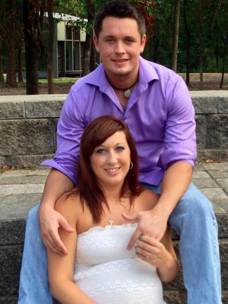 Heidi Broussard and Shane Carey.