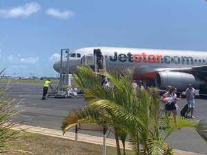 Passengers stranded at Mackay Airport