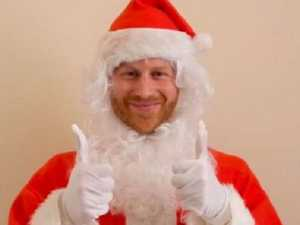Prince Harry's Santa surprise