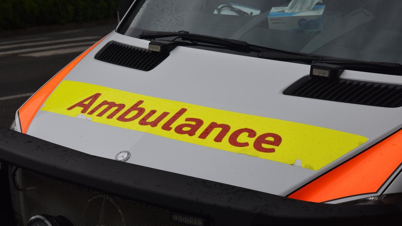 Paramedics responded to a crash at Bouldercombe this afternoon.