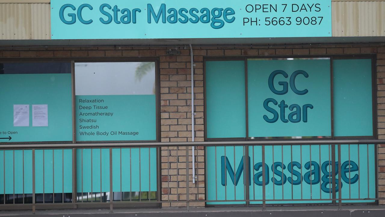 GC Star Massage at Ashmore. Picture: Jason O'Brien