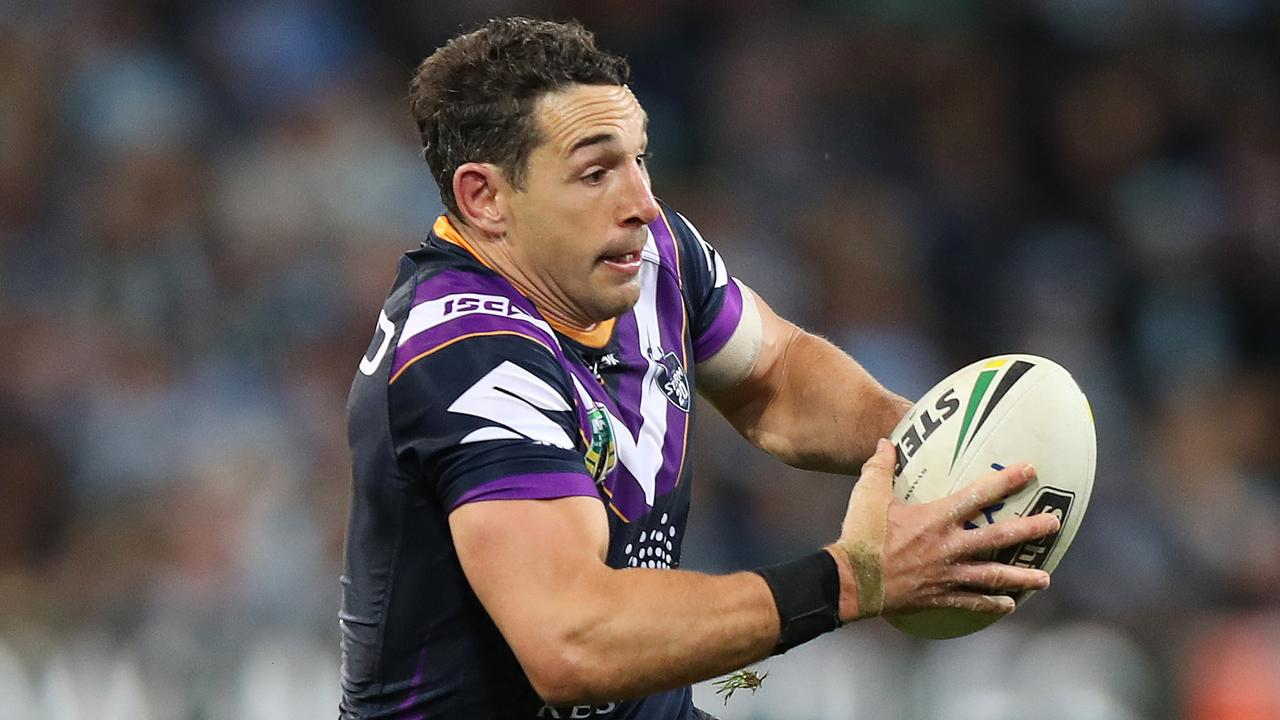 Billy Slater could be a future Immoirtal. Picture: Brett Costello
