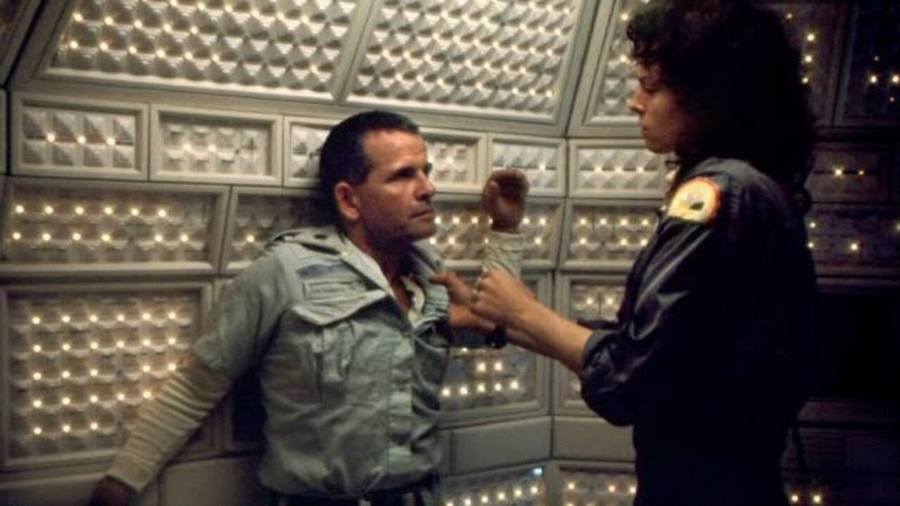 Ripley didn't really get along with Ash in Alien. Picture: supplied