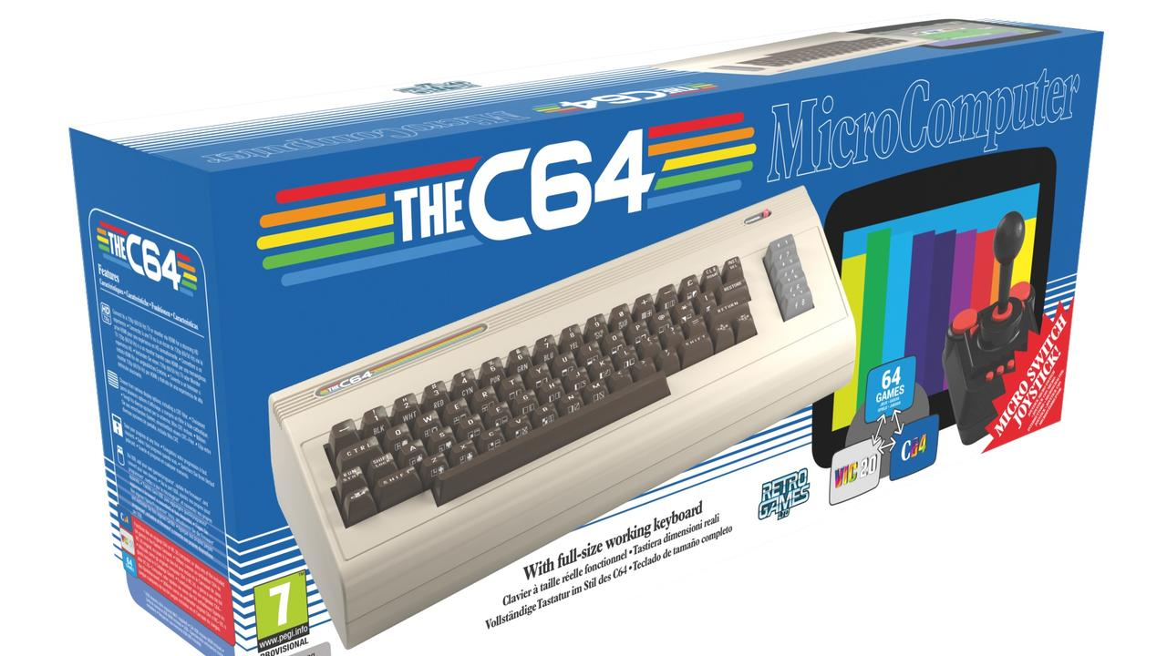 The C64 Home Computer now has a full working keyboard