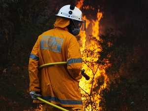 Rain on the horizon for Qld firefighters