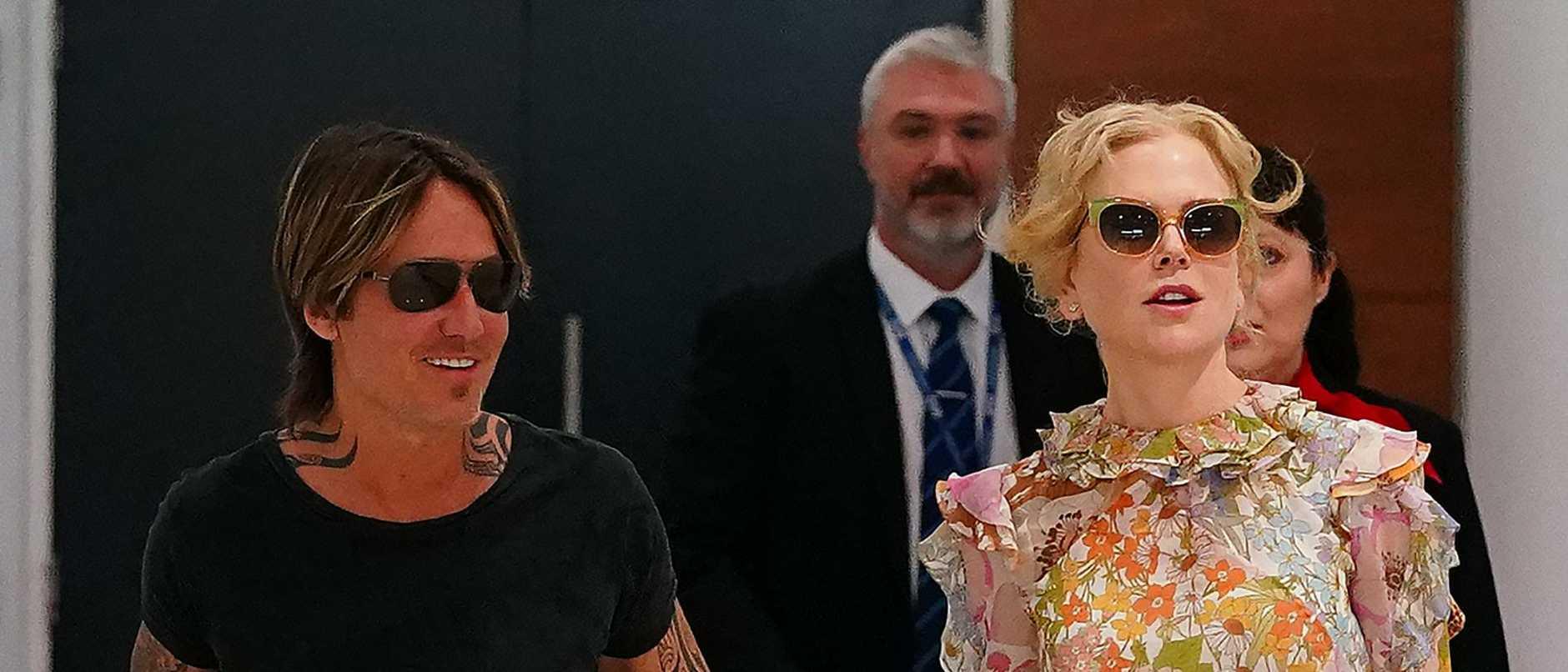 Nicole Kidman Arrives In Sydney For Christmas