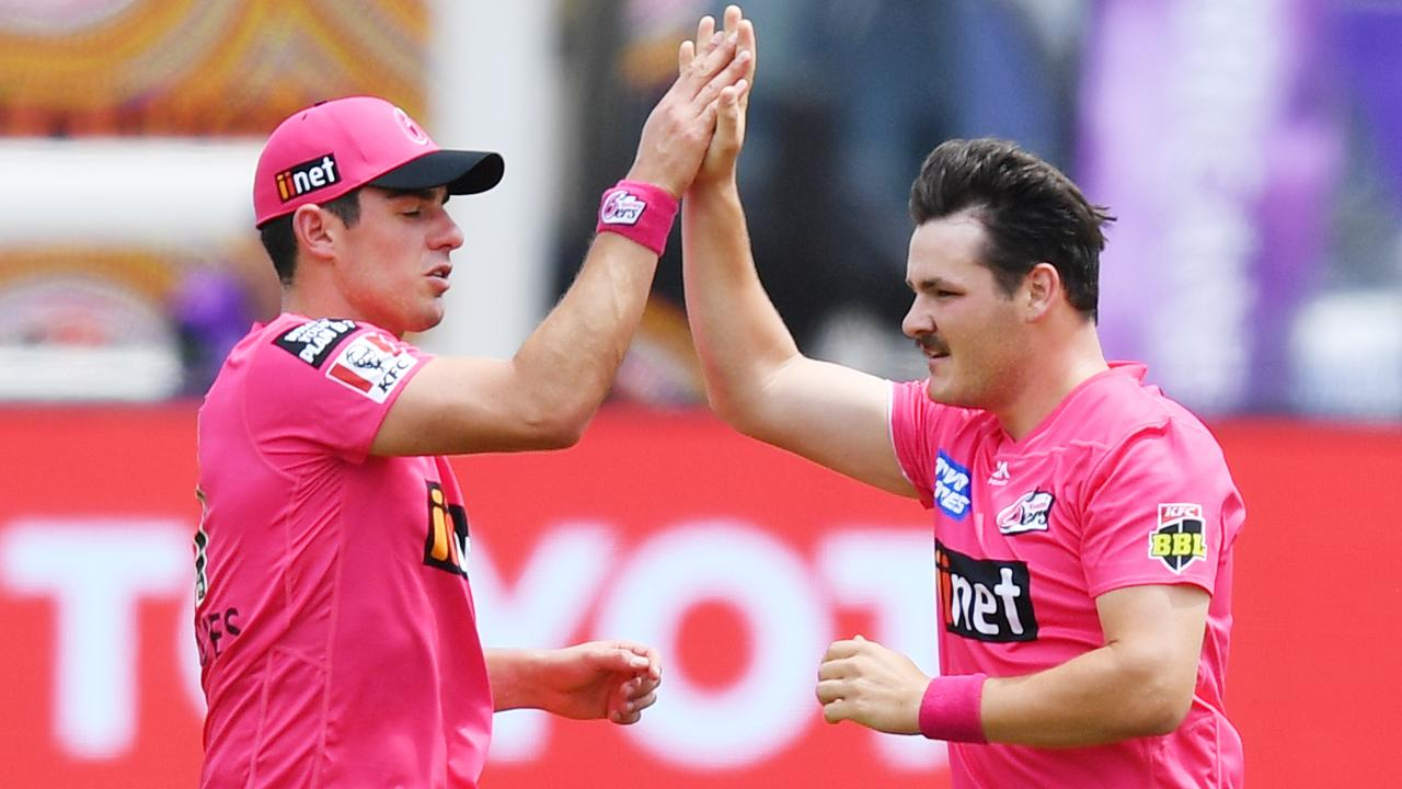 Ben Manenti is helping the Sydney Sixers plan for Tom Banton. Picture: AAP Images