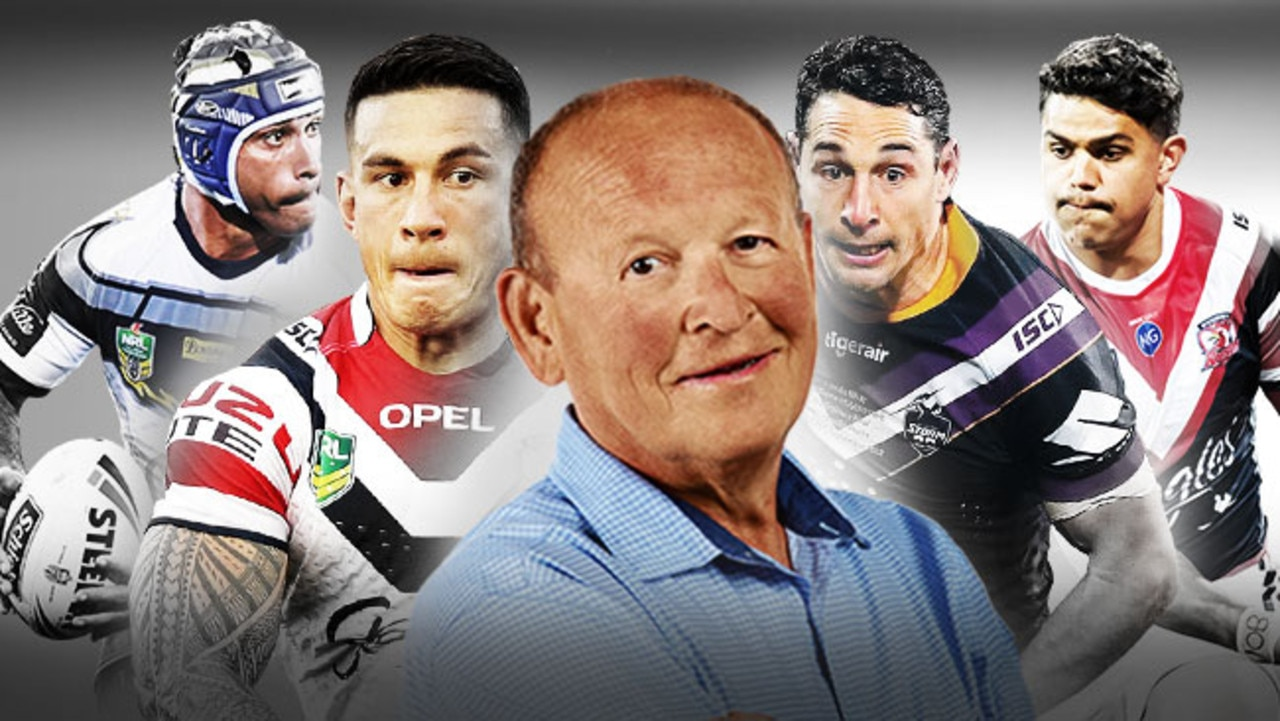 Johnathan Thurston, Sonny Bill Williams, Billy Slater and Latrell Mitchell feature in Buzz's NRL team of the decade.