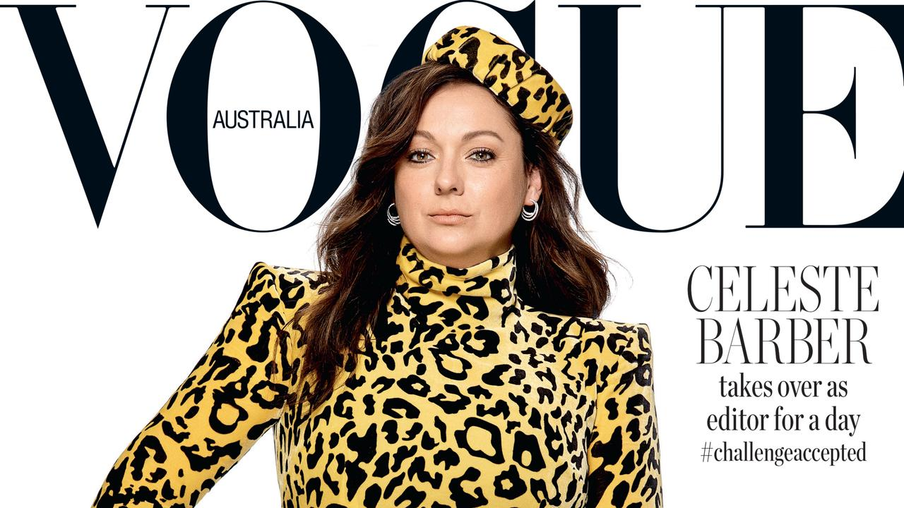 Celeste Barber has unveiled her new book, Challenged Accepted! Picture: Vogue Australia