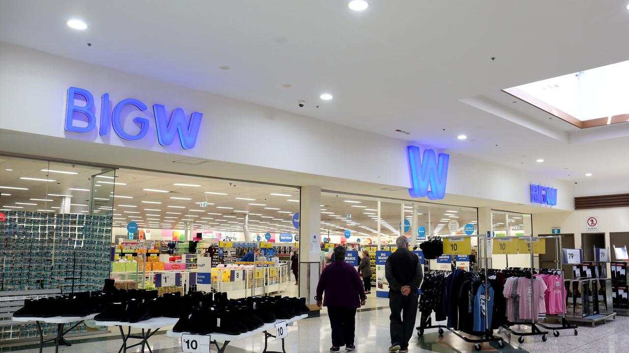 A Big W department store
